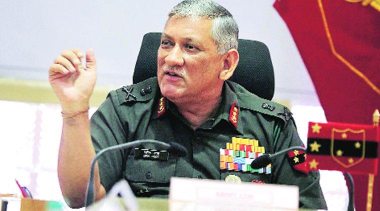 घुसपैठ नहीं थमी तो भारत फिर करेगा 'सर्जिकल स्ट्राइक' : जनरल रावत