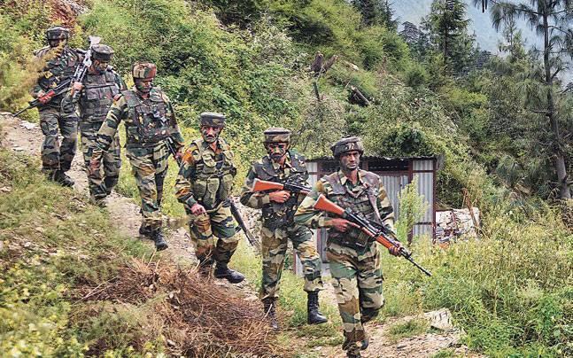 जम्मू-कश्मीर के रामपुर सेक्टर में घुसपैठ की कोशिश नाकाम, 4 आतंकी ढेर