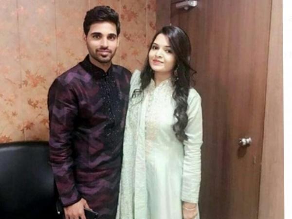 तेज गेंदबाज भुवनेश्वर कुमार ने की सगाई, फोटो शेयर कर बताया 'बेटर हाफ'
