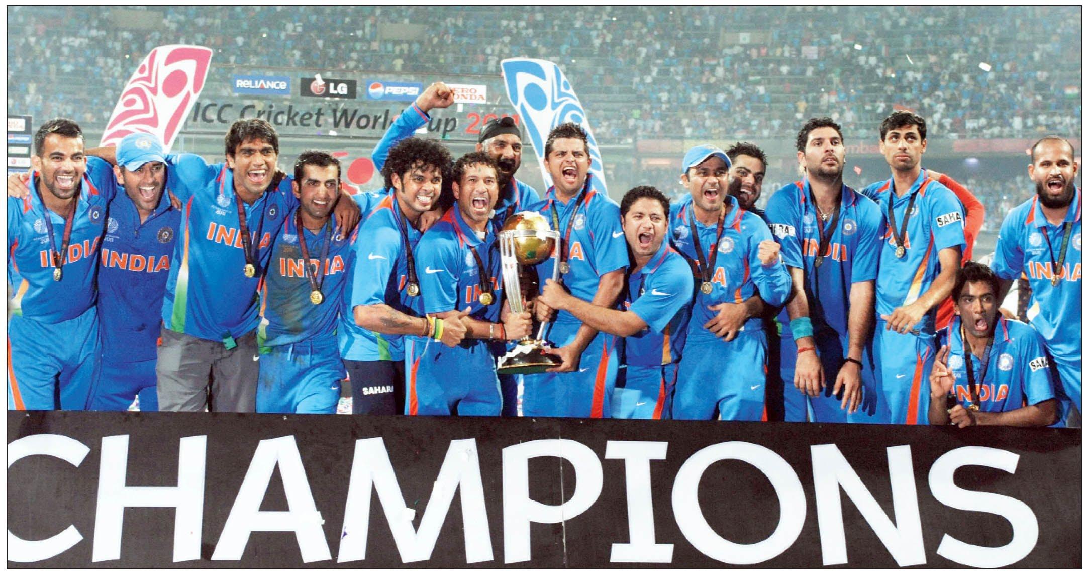 भारत संभालेगा 2023 क्रिकेट वर्ल्ड कप और 2021 ICC चैंपियंस ट्रॉफी की मेजबानी की कमान
