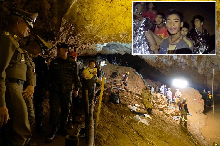 थाइलैंड की गुफा में फंसे 12 बच्चे, रेस्क्यू में लग सकते हैं 4 महीनें