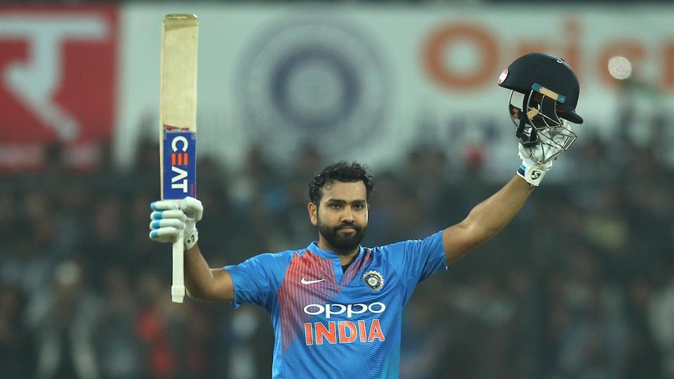 रोहित शर्मा ने तोड़ा रिकार्ड, T-20 में 3 शतक लगाने वाले पहले भारतीय बने