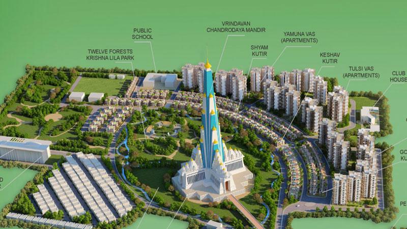 भारत में बन रहा सबसे ऊंचा मंदिर, निर्माण को रोकने के लिए NGT ने जारी किया नोटिस