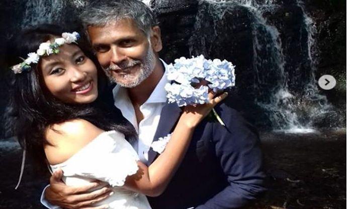 मिलिंद ने अंकिता से स्पेन में फिर की शादी