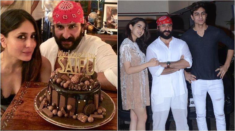 धूमधाम से मनाया सैफ अली खान ने अपना जन्मदिन, सारा ने डाली महफिल में जान