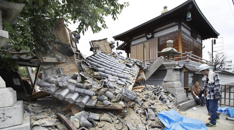 25 साल के सबसे शक्तिशाली तूफान के बाद जापान में आया भूकंप, तीव्रता 6.7