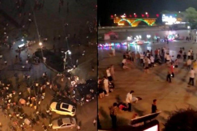 चीन में भीड़ पर SUV चढ़ाने के बाद लोगों पर किया चाकू से हमला, 9 की मौत, 46 से अधिक घायल