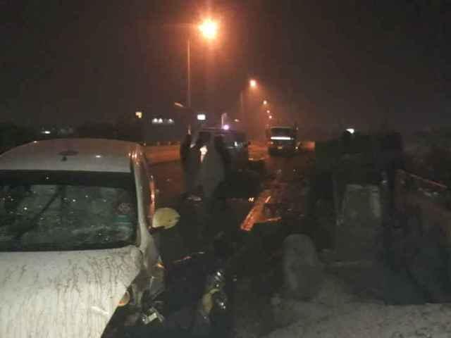 हिसारः सड़क किनारे सो रहे मजदूरों को तेज रफ्तार कार ने रौंदा, 5 की मौत