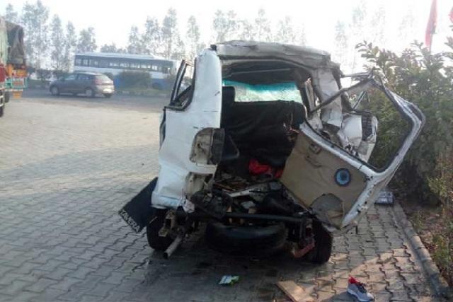 अंबाला: गाड़ियों में अज्ञात वाहन ने मारी टक्कर, सात लोगों की मौत, चार घायल