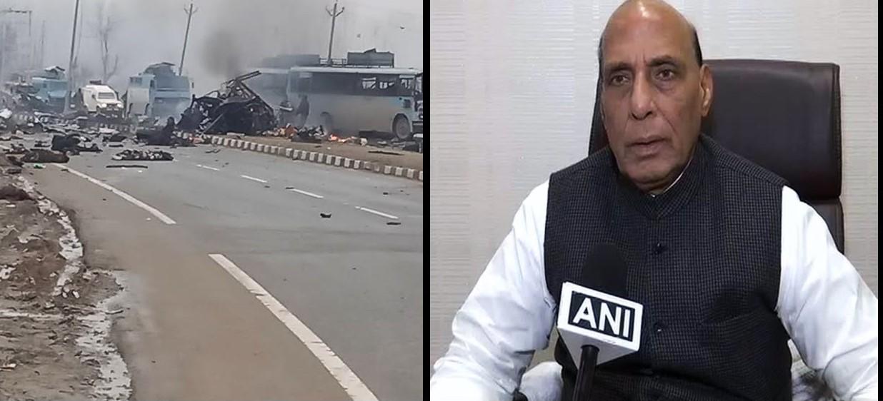 Pulwama IED Blast: शहीद जवानों की संख्या हुई 37, दोपहर 12 बजे श्रीनगर रवाना हो सकते है गृहमंत्री
