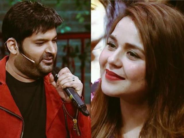 पत्नी को देख खुलेआम रोमांटिक हुए कपिल शर्मा, पत्नी के लिए गाया गाना, देखती रह गईं गिन्नी