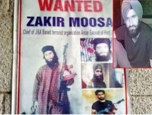 आतंक का पोस्टर बॉय जाकिर मूसा सेना के एंकाउंटर में ढेर
