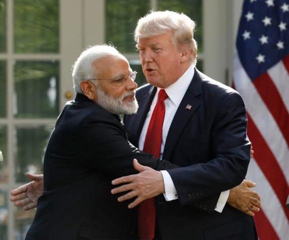 अमेरिकी राष्ट्रपति डोनाल्ड ट्रम्प ने फोन कर PM मोदी को दी जीत की बधाई, मोदी एक महान नेता