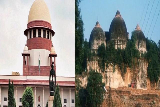 अयोध्या विवाद: सुप्रीम कोर्ट में हुई सुनवाई, मामले की अगली सुनवाई 2 अगस्त को रिपोर्ट पढ़ने के बाद