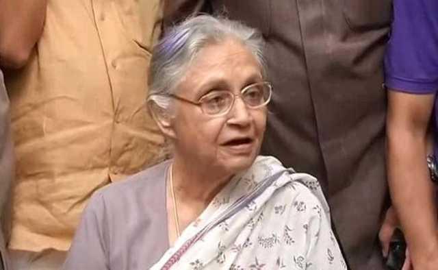 दिल्ली की पूर्व सीएम शीला दीक्षित का 81 वर्ष की उम्र में निधन
