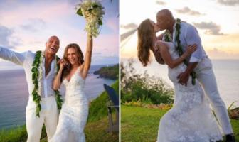 The Rock ने की गर्लफ्रेंड लॉरा हाशियान से गुपचुप शादी,सोशल मीडिया पर तस्वीरें वायरल