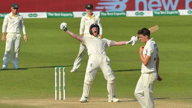 Ashes-2019: Ben Stokes ने छीनी ऑस्ट्रेलिया के जबड़े से जीत, सीरीज 1-1 से बराबर