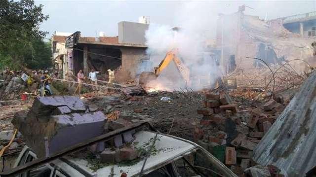 पंजाब: बटाला में पटाखा फैक्ट्री में धमाका, 23 लोगों की मौत