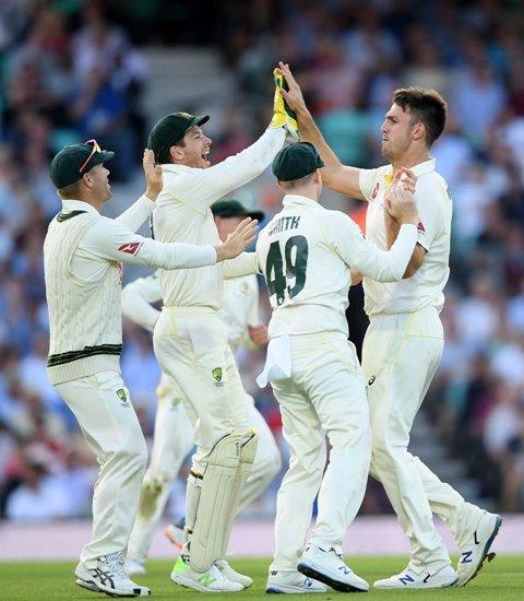 Ashes-2019: आखिरी टेस्ट के पहले दिन इंग्लैंड की बल्लेबाजी फेल, मिचेल मार्श ने झटके 4 विकेट