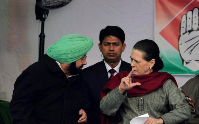 पंजाब सीएम अमरिंदर सिंह की सोनिया गांधी से मुलाकात, कहा सरकार कर रही अपने वादे पूरे