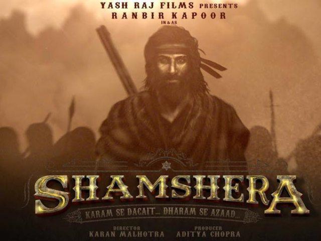 Ranbir Kapoor की फिल्म Shamshera का फर्स्ट लुक हुआ लीक, सोशल मीडिया पर वायरल