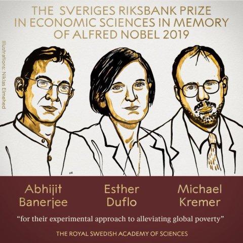 अर्थशास्त्र के लिए नोबेल पुरस्कार का ऐलान, इन 3 शख्सियतों को मिला ये सम्मान