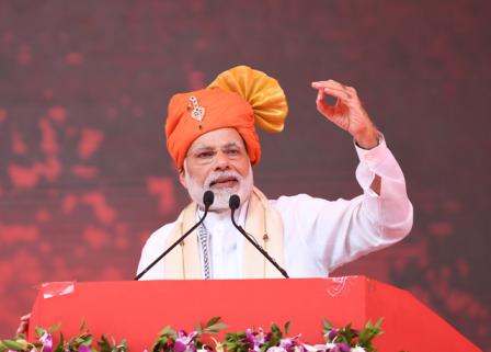 हरियाणा विस चुनाव: पीएम मोदी का कांग्रेस पर हमला, पूछा पाक के साथ कांग्रेस की कौन सी केमिस्ट्री?