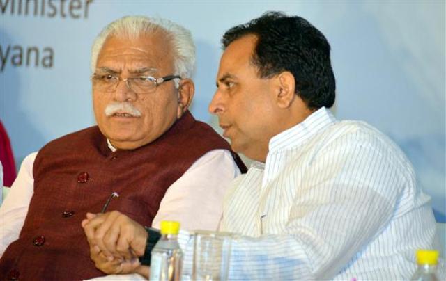 हरियाणा विस चुनाव: सीएम ने कहा कैप्टन अभिमन्यु और मेरी जोड़ी जबरदस्त,मिलकर करते है काम