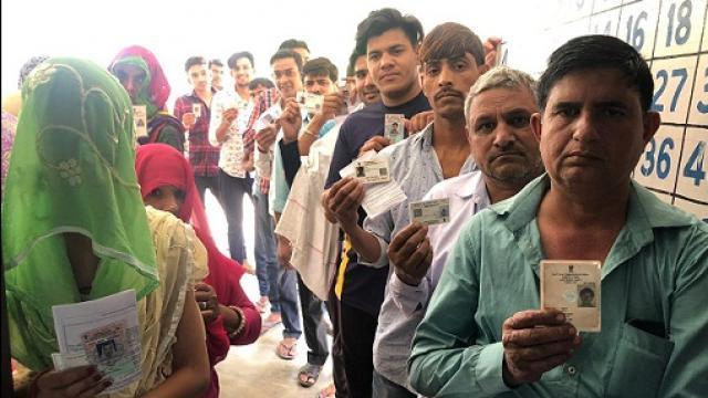 हरियाणा विस चुनाव: दोपहर 12 बजे तक 23.13 प्रतिशत मतदान, सबसे कम इस जिले मे हुआ मतदान