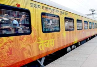 देश की पहली निजी ट्रेन तेजस लेट हुई, यात्रियों को मिलेगा मुआवजा