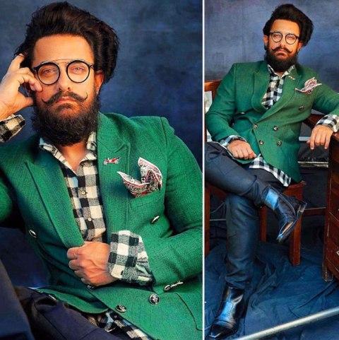 आमिर खान ने शेयर किया फिल्म लाल सिंह चड्ढा से अपना फर्स्ट लुक पोस्टर