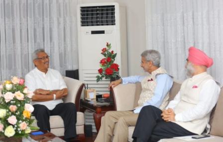 29 नवंबर को भारत आएंगे श्रीलंका के नवनिर्वाचित राष्ट्रपति गोतबाया, विदेश मंत्री ने दी जानकारी