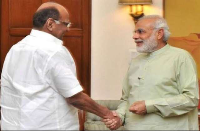 पीएम मोदी से की एनसीपी प्रमुख शरद पवार ने मुलाकात, किसानों की समस्या को लेकर हुई बातचीत
