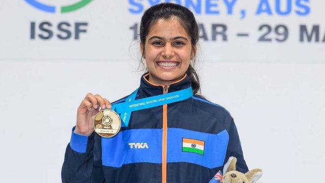 भारत की निशानेबाज मनु भाकर ने शूटिंग वर्ल्ड कप में 10 मीटर पिस्टल इवेंट में जीता गोल्ड मेडल