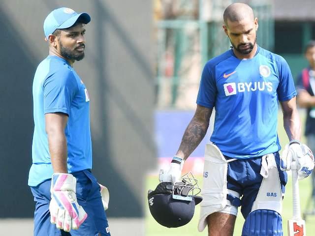 वेस्टइंडीज के खिलाफ टी20 सीरीज से धवन चोट के कारण हुए बाहर, इस खिलाड़ी को मिला मौका