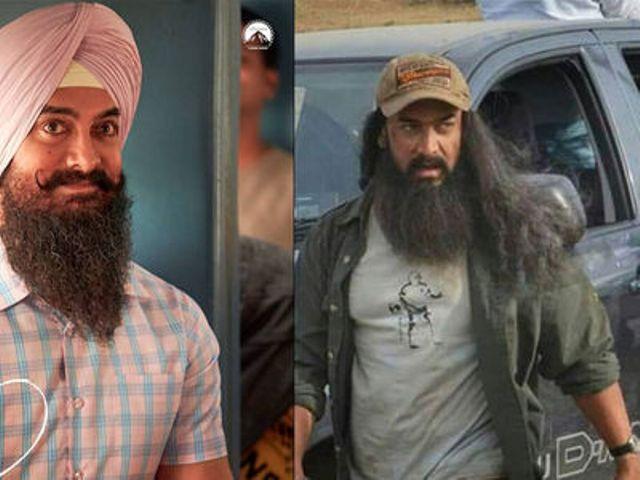 आमिर खान की फिल्म लाल सिंह चड्ढा में आमिर का नया लुक वायरल
