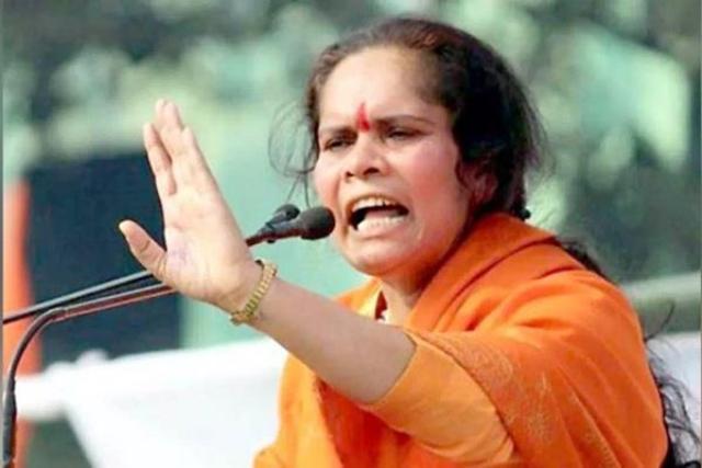 साध्वी प्राची का विवादित बयान, नक्सलवाद, आतंकवाद, बलात्कार को बताया नेहरू खानदान की देन