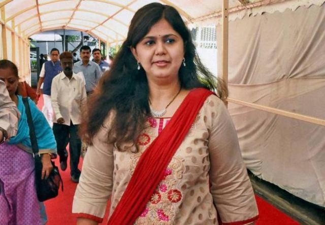 बीजेपी नेता पंकजा मुंडे ने किया भूख हड़ताल का ऐलान, बताया क्यो करेगी भूख हड़ताल