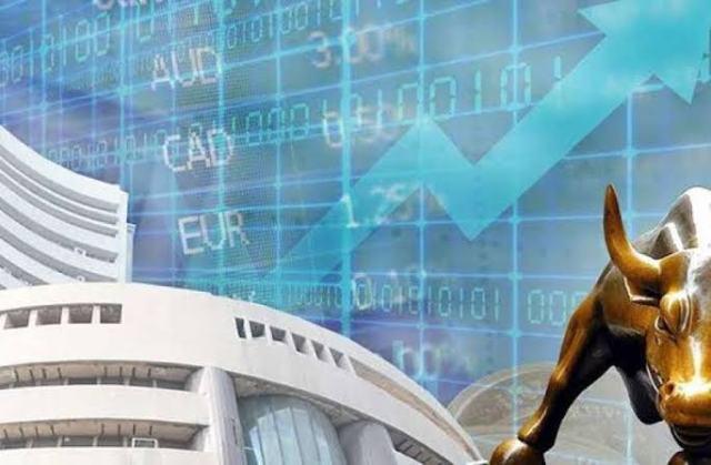 शेयर बाजार में आया उछाल, पहली बार 42 हजार के पार पहुंचा सेंसेक्स