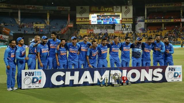 भारत का सीरीज पर 2-1 से कब्जा, रोहित ने लगाया शानदार शतक