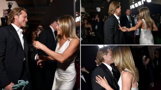 तो क्या एक बार फिर से एक दूसरे को डेट कर रहे हैं हॉलीवुड स्टार ब्रैड पिट और जेनिफर एनिस्टन!