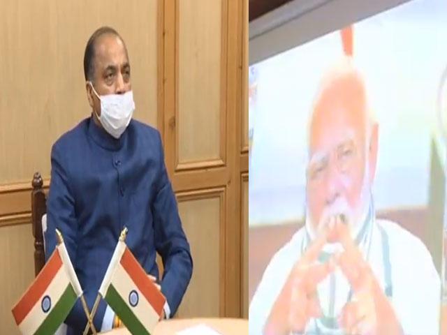 PM मोदी ने की एक्टिव केस फाईंडिंग अभियान को प्रभावी रूप से चलाने के लिए CM जयराम ठाकुर की सराहना