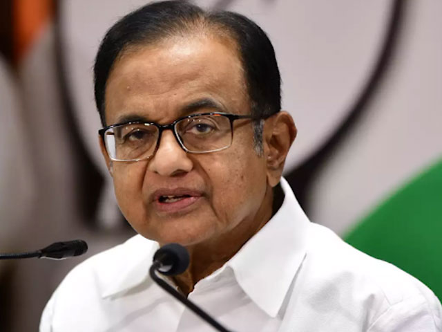 GDP वृद्धि नेगेटिव रहने की बात पर भड़के चिदंबरम, RBI गवर्नर को दी ये नसीहत