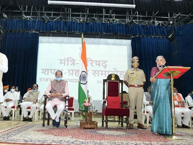 मध्य प्रदेश में शिवराज सिंह चौहान के मंत्रिमंडल का हुआ विस्तार, 28 मंत्रियों को दिलाई गई शपथ