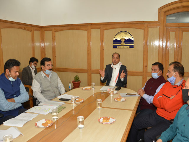 Himachal में विभिन्न आवास योजनाओं के अंतर्गत 10 हजार घरों का निर्माण किया गया : CM जयराम ठाकुर