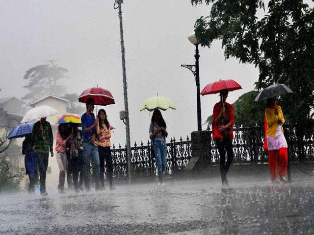 हिमाचल प्रदेश में आज होगी भारी बारिश, मौसम विभाग ने जारी किया येलो अलर्ट