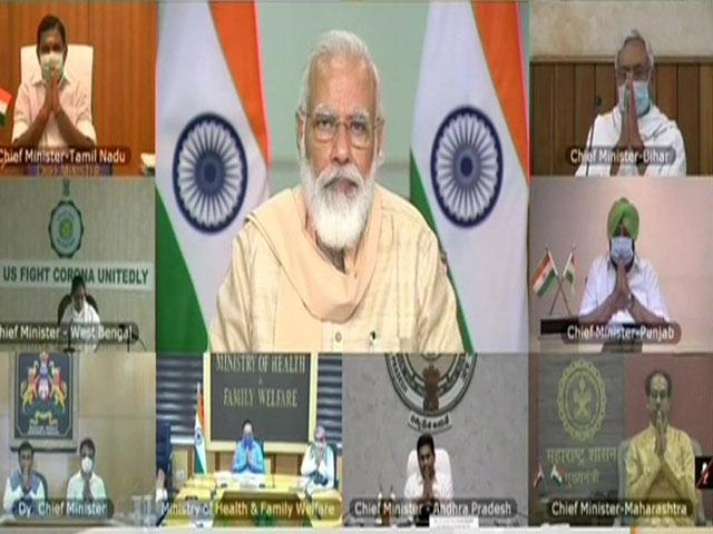 PM मोदी ने कोरोना की स्थिति पर 10 सबसे प्रभावित राज्यों के CM से की बात, जानिए बैठक की बड़ी बातें