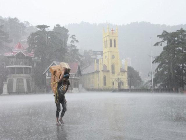 हिमाचल प्रदेश में 18 अगस्त तक मौसम खराब रहने का पूर्वानुमान