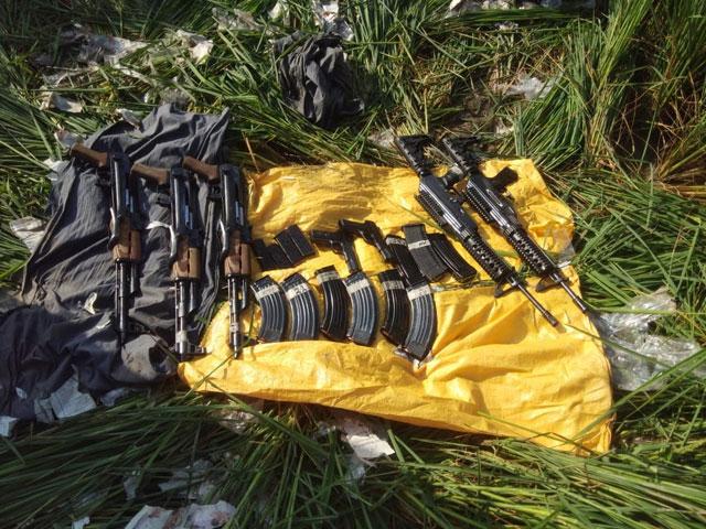 पंजाब : बीएसएफ ने नाकाम की बड़ी आतंकी साजिश, भारत-पाक सीमा पर पकड़ा हथियारों का जखीरा