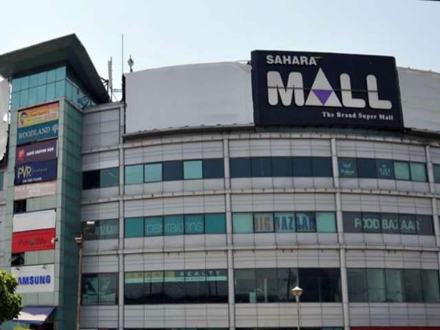 लापरवाही के चलते पॉल्यूशन विभाग ने MG रोड स्थित सहारा मॉल को किया सील